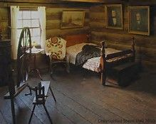 Image result for Pioneer One Room Cabin Interior Cabin Pinterest