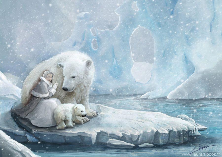 картинки белых медведей фэнтези жители называют