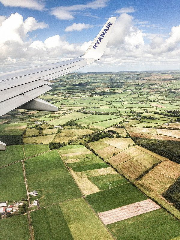 Flight To Ireland Ireland Pretty Places Airplane View