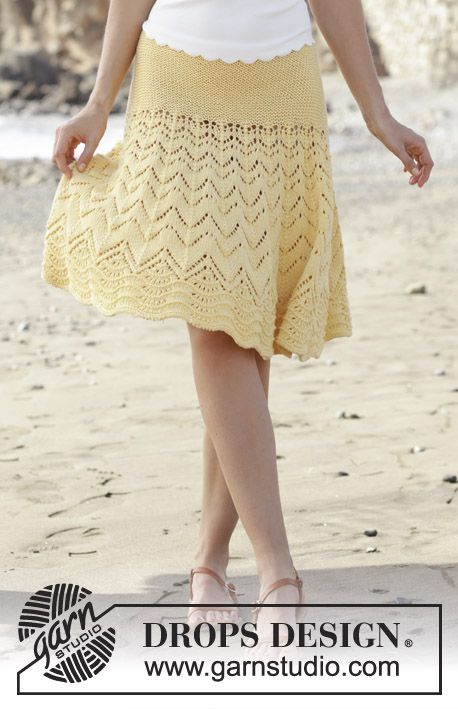 Free Knitting Pattern for a Sunny Days Skirt | Knit Skirts ...