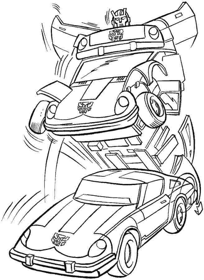 Transformers Printable Coloring Pages Printable Free The
