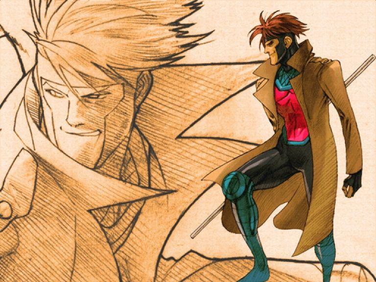Gambit Marvel Vs Capcom Art | Bengus | Marvel vs, Marvel