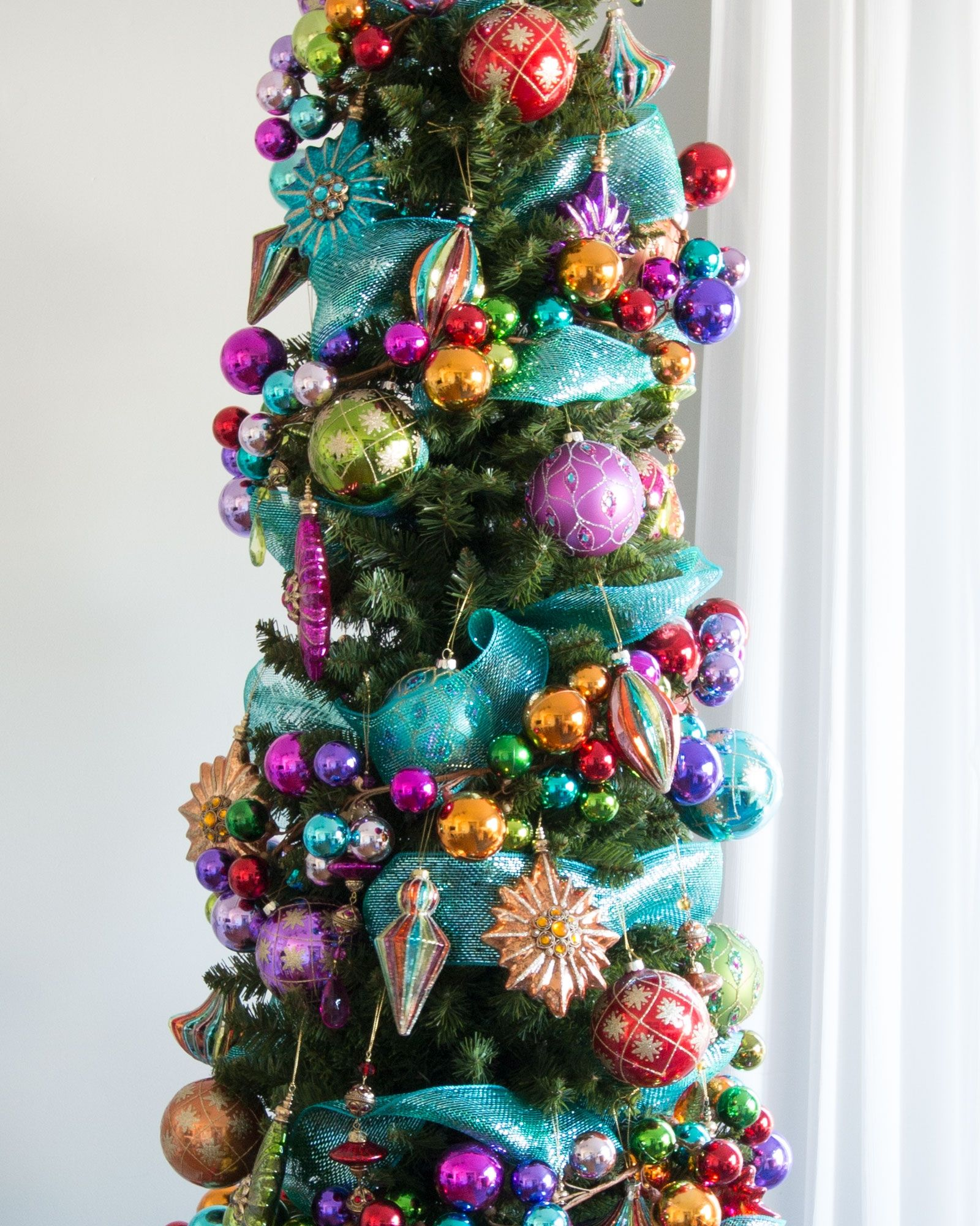 Pre Decorated Christmas Trees Delivered Pencil christmas