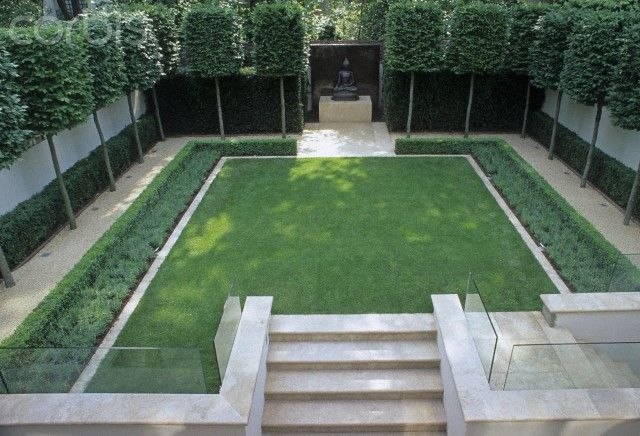 Google image result for for Formally designed lawn