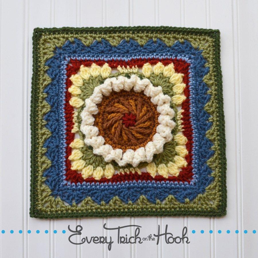Pattern written in us crochet terms skill level intermediate pattern written in us crochet terms skill level intermediate finished size 9 inch square bankloansurffo Choice Image