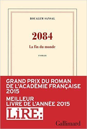 MONDE FIN DU PDF 2084 LA TÉLÉCHARGER
