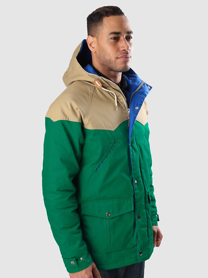 Quality Blanks Quilted Insulated Mountain Parka QB14