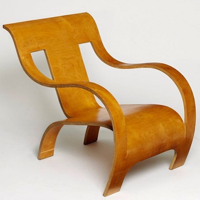 One of the most iconic examples of #betwood #furniture designed by #geraldsummers in the #1930s #plywood