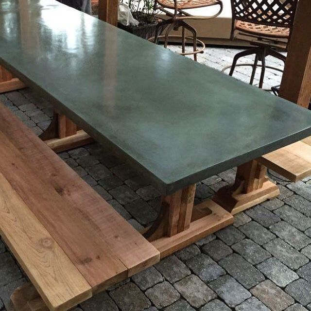 slate dining table uk avant garde bed pool set furniture green