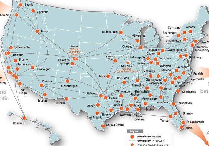 Comcast Fiber Map ~ AFP CV on