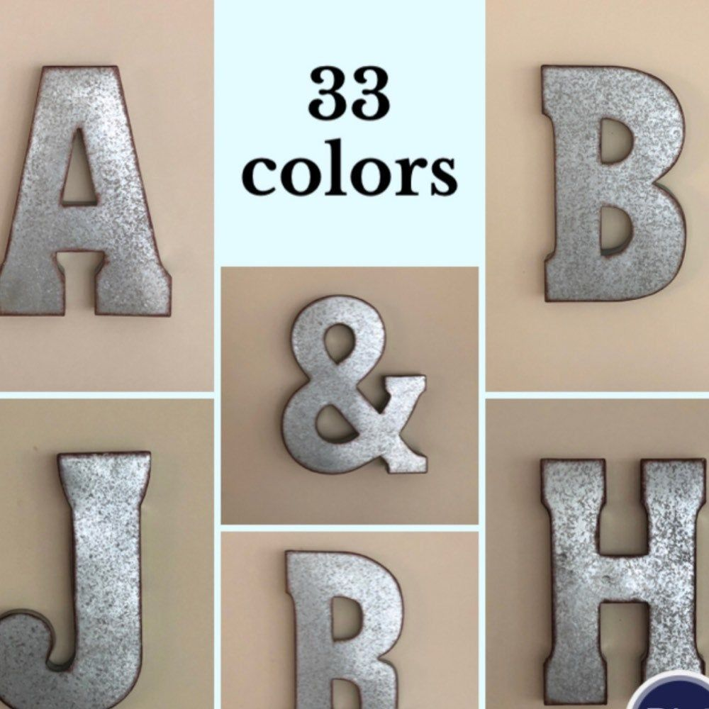 I M Offering A Discount Metal Wall Letters Metal Letters