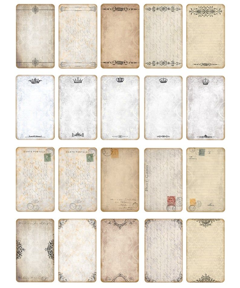 Digital Collage Sheet 4x6 Printable Paper Victorian Frame Collage Printable Collage Sheet 4x6 Digital Paper Scrapbook Paper