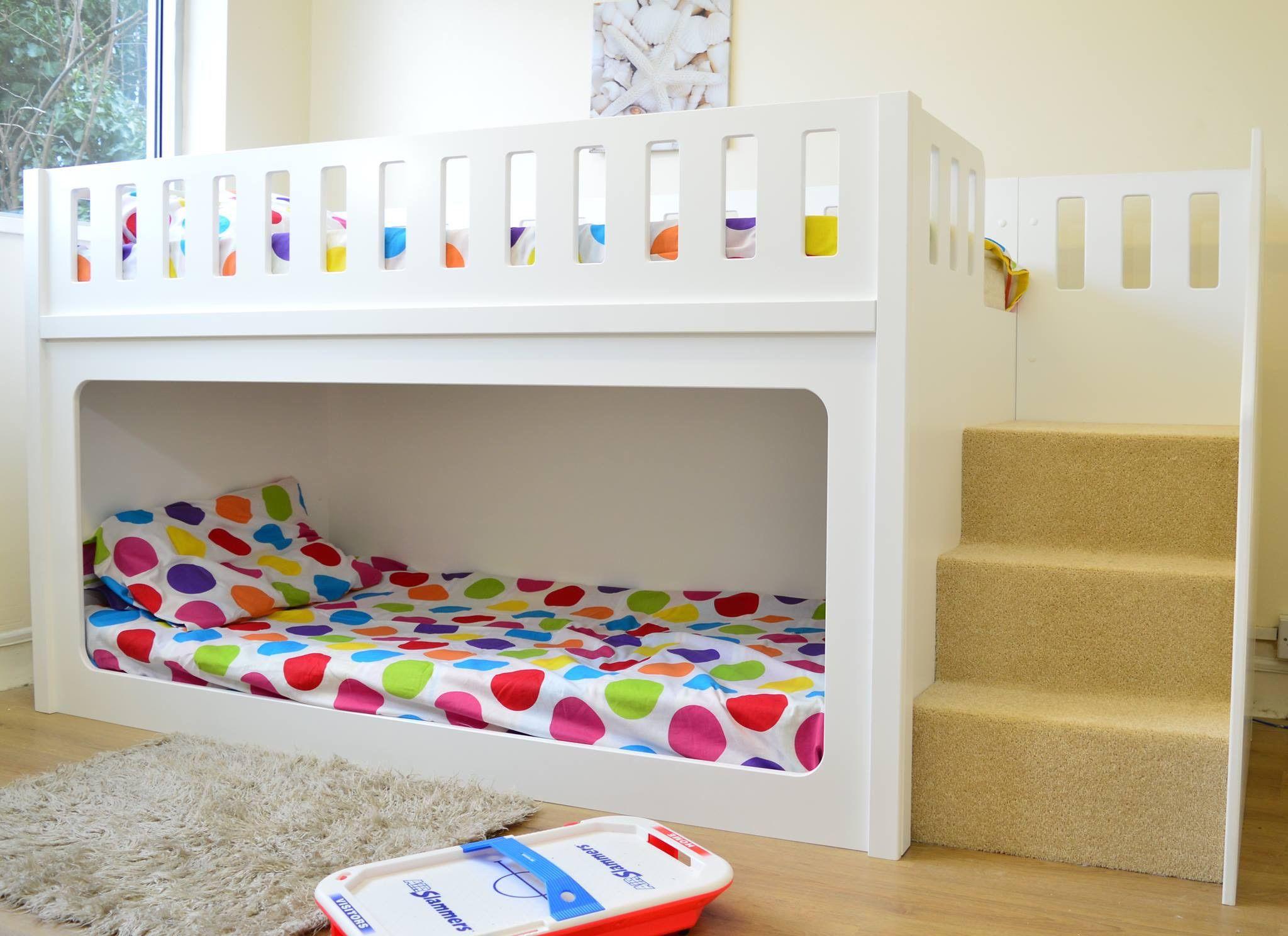 Kinder Zweibettzimmer Mit Hochbett Und Etagenbett Für Mädchen Etagenbetten  Für Kinder Twin Size Etagenbetten Für Verkauf