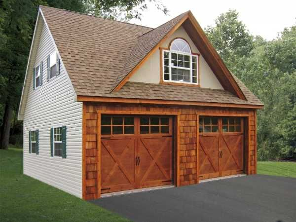 Two Story A Peak Garage Sheds Pinterest Garage Doors Window