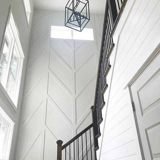 Accent Wall Dual Staircase: Pop Over To These Guys Remodeling Exterior House In 2020