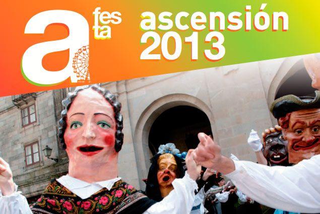 Comenzaron las Fiestas de la Ascesión 2013 en Santiago. No te pierdas el programa para hoy con Pignoise, Andy & Lucas, David de María, David Civera y muchos más...