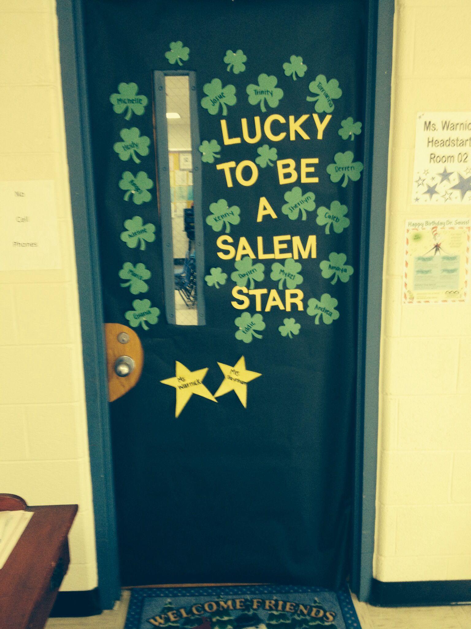 St. Patrick's day classroom door idea! | St. Patrick's day ...