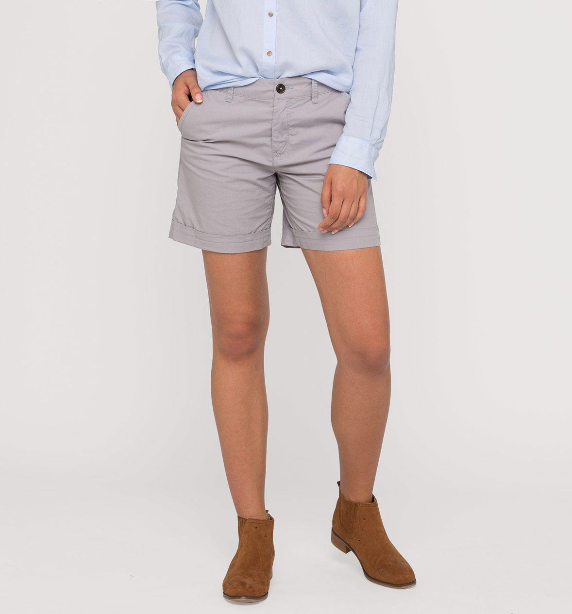 Shorts en gris claro