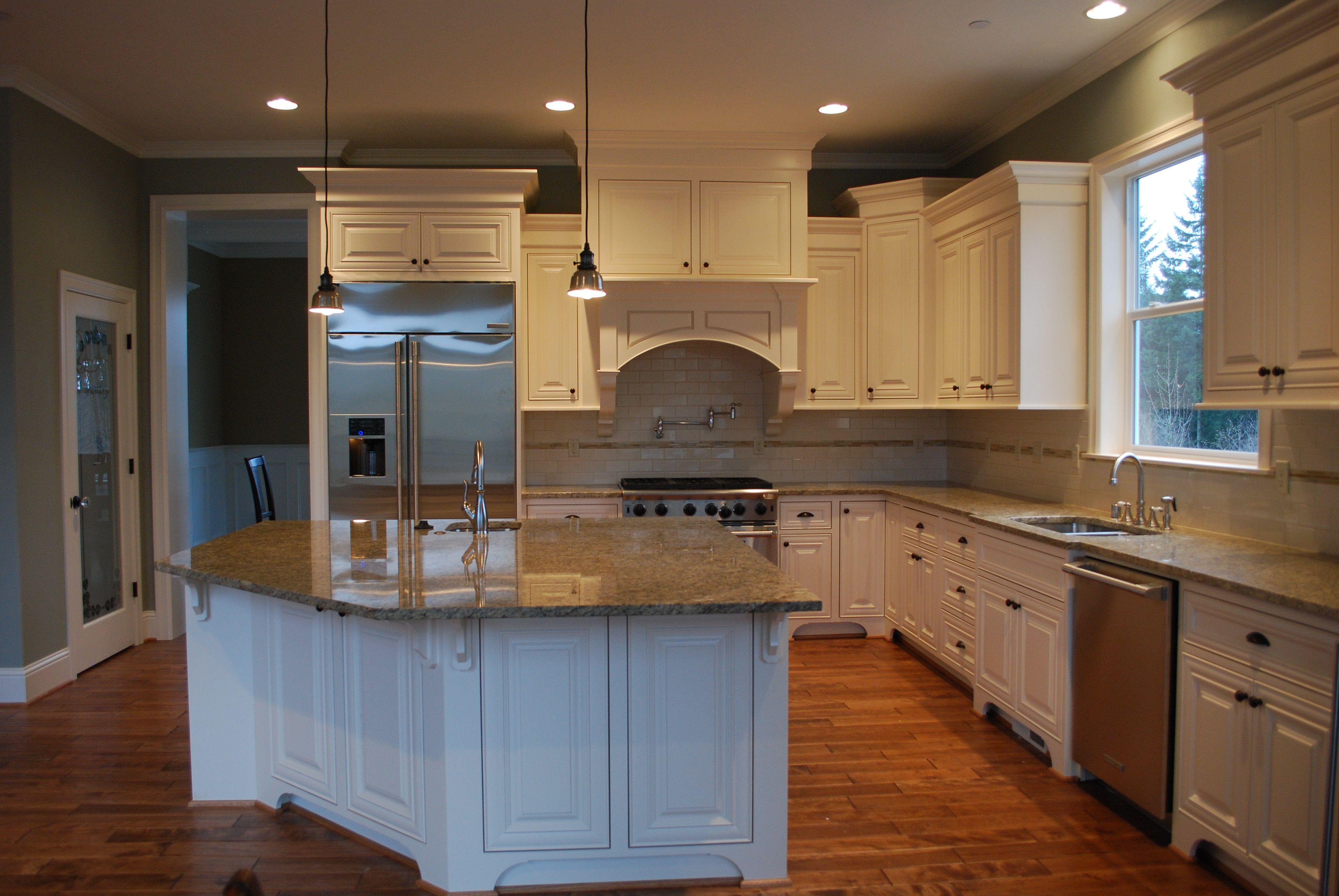 white kitchen with varied height upper cabinets with images upper cabinets kitchen on kitchen cabinets upper id=46741