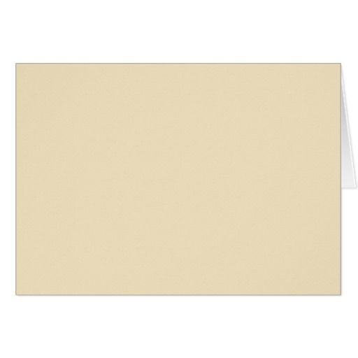 Blank Card with Ecru Cream Background ZAZZLE Blank Cards - blank paper background