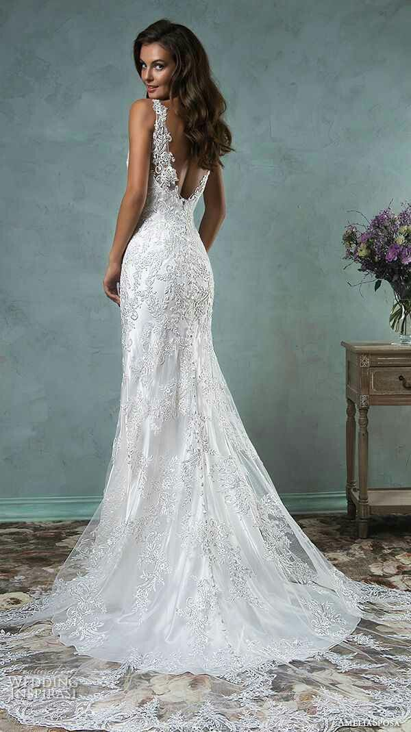 Getting Married How About A Lacey Opened Back Dress Wedding Dresses Trendy Wedding Dresses Wedding Dresses Satin