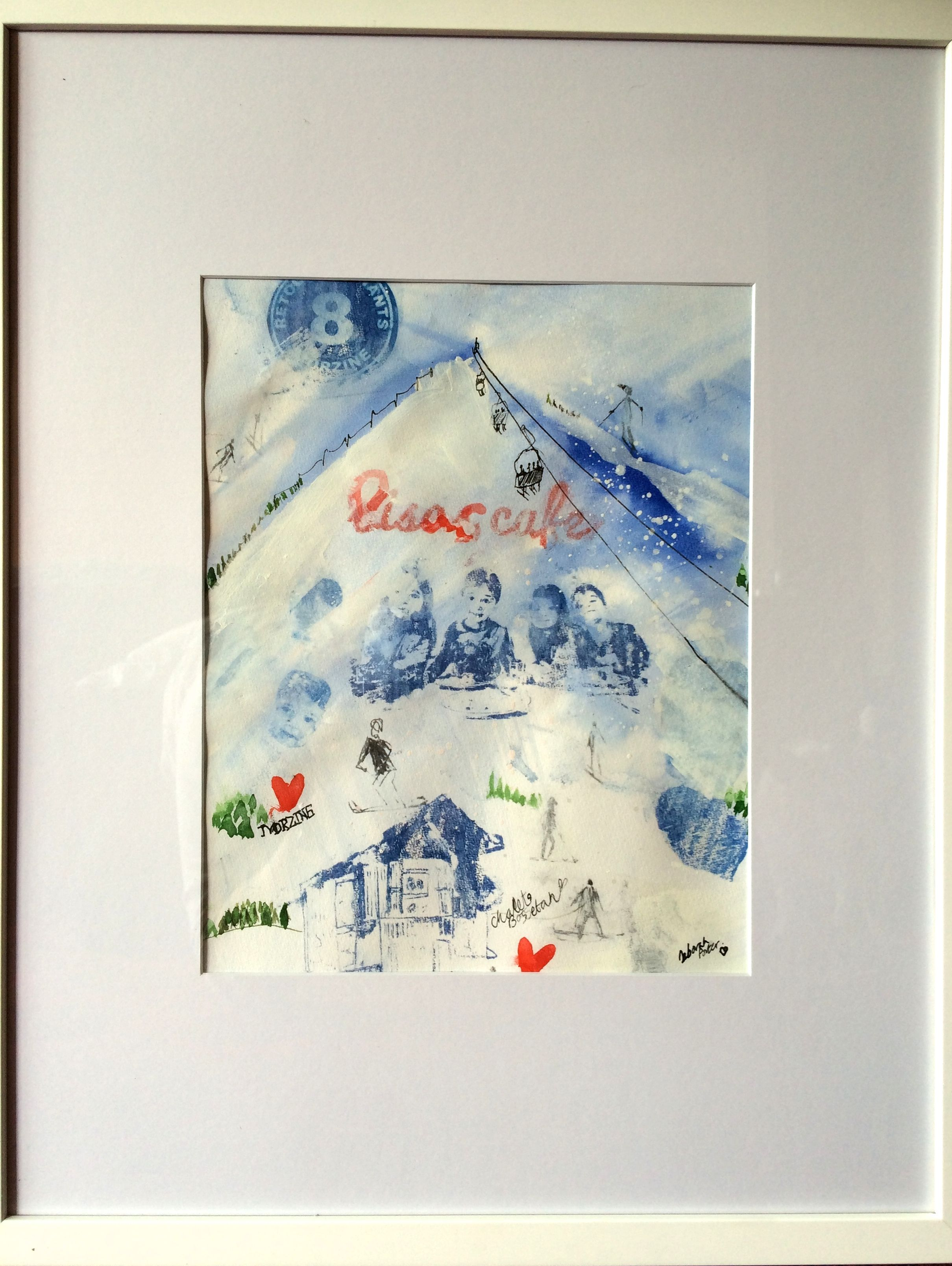 A commission from a family who like to ski in Morzine.
