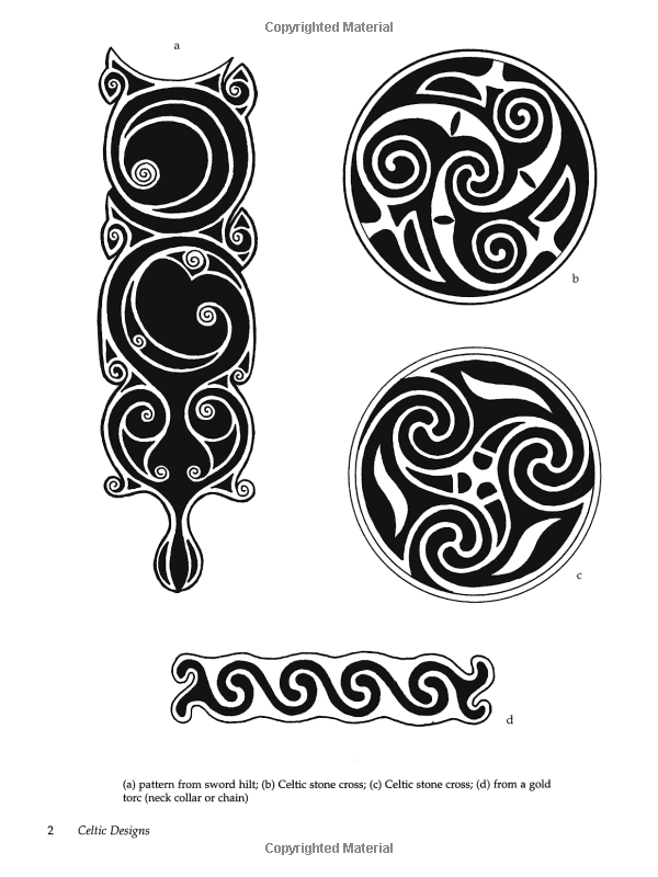 Celtic And Old Norse Designs Dover Pictorial Archives Amazonde Inspiration Viking Patterns