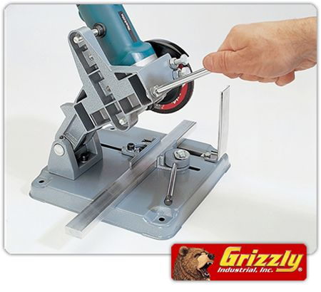 Turn Your Angle Grinder Into A Mini Chopsaw Workshop