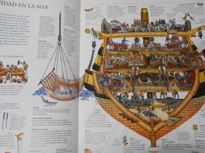 Un barco de guerra del siglo XVIII | Barcos Antiguos ...