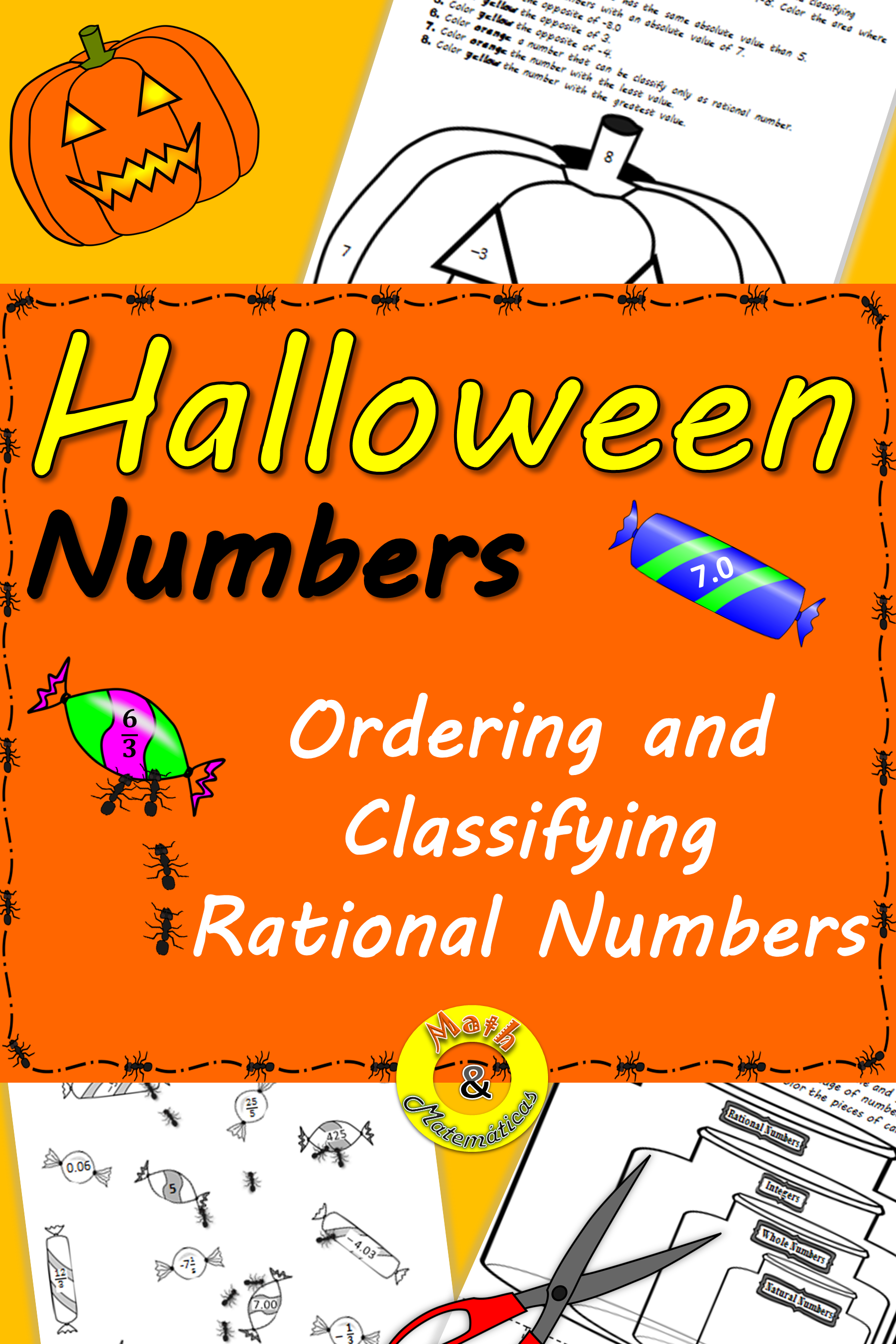 Halloween Number ReviewClassifying rational numbers