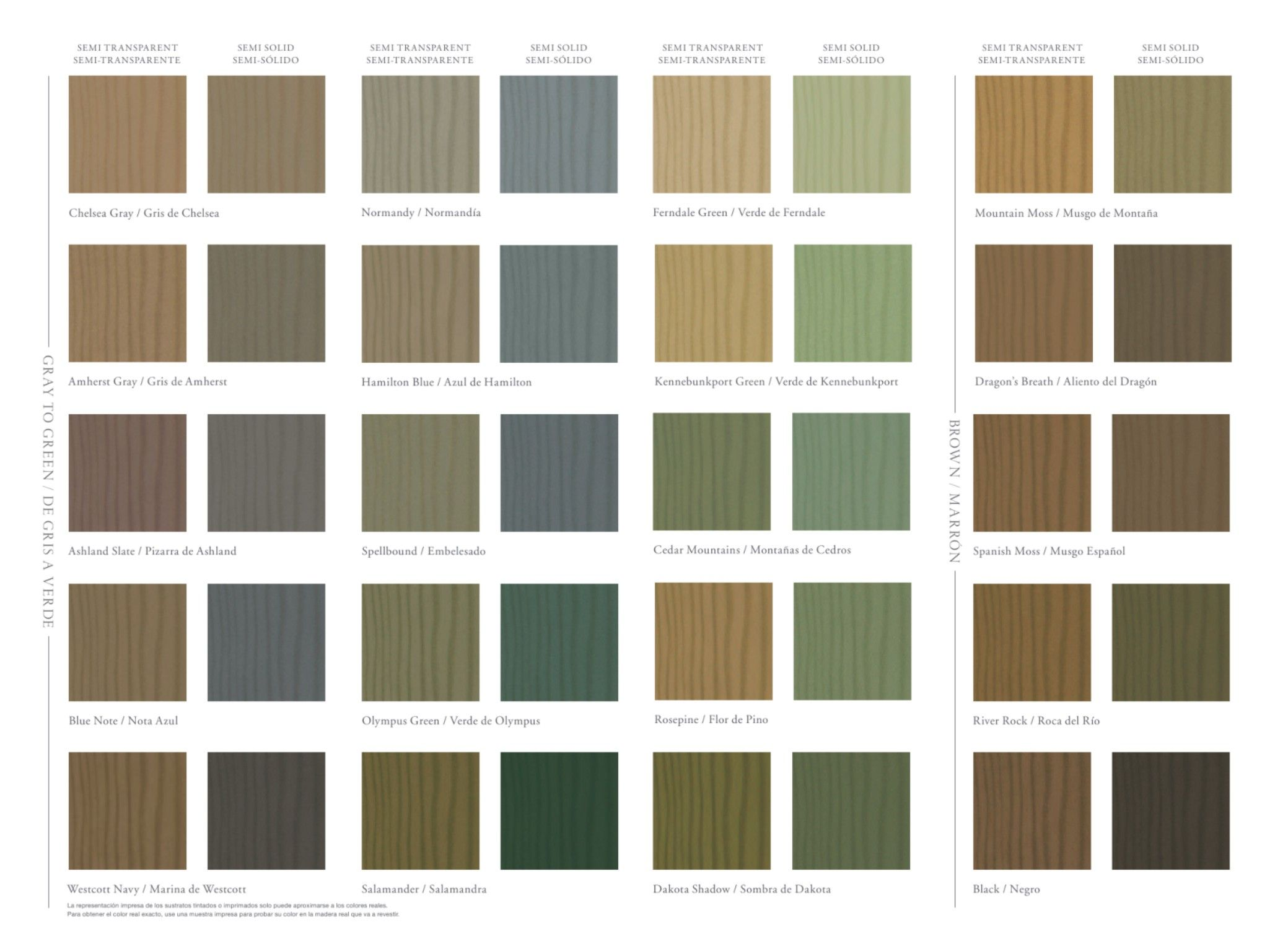 Benjamin Moore Co Solid Stain Colors Exterior Stain Colors Deck Stain Colors