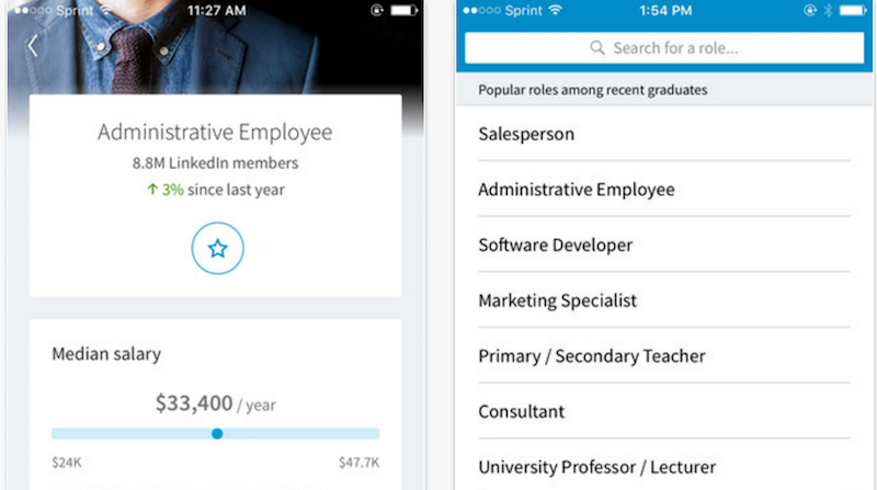 Linkedin Students Helps Soon To Be Grads Prepare For The Job Market Marketing Jobs Social Media Marketing Business Secondary Teacher