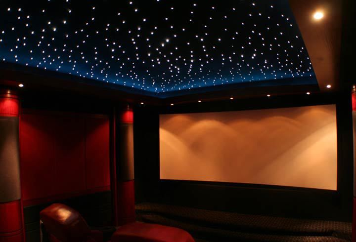 Ceiling Lighting For Theater Room Star Ceiling Home Theater Rooms Home Theater Design