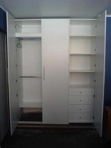 Muebles de melamine reposteros y closet