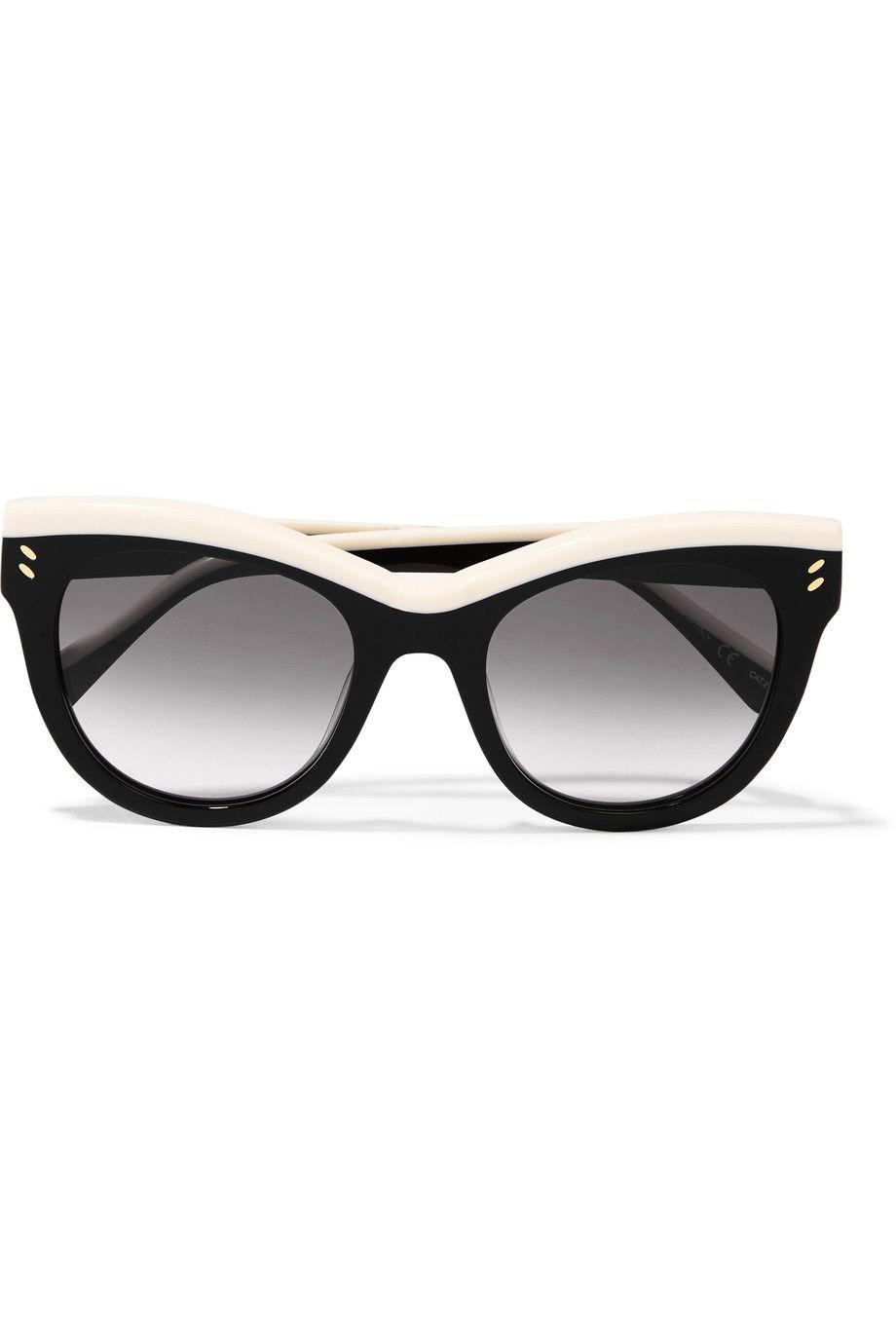 876f96c4171 STELLA MCCARTNEY Cat-eye acetate sunglasses.  stellamccartney ...