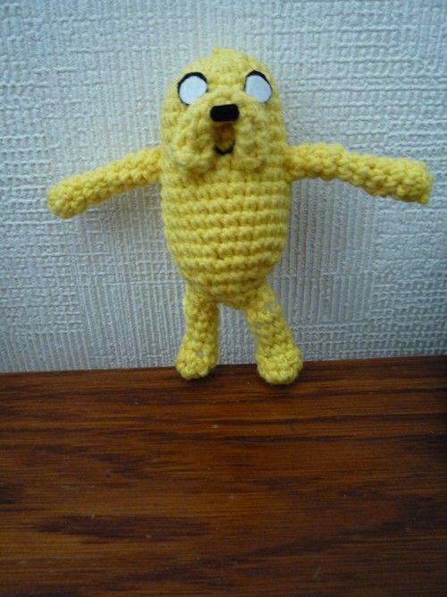 Inside Uranus: Jake from adventure time - Free crochet pattern by ...
