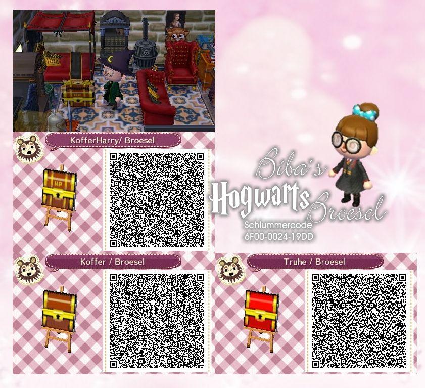 Koffer - Trunk - Biba - Broesel Spiel - A letter from Hogwarts - Harry Potter - Animal Crossing New Leaf - ACNL - QR - Broesel - Danke für diese schöne Idee, die ich gern aufgegriffen und umgeändert habe.
