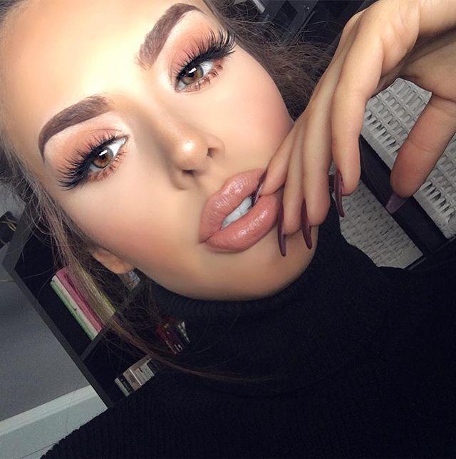 a4277e4a94f Wearing @hudabeauty faux mink lashes