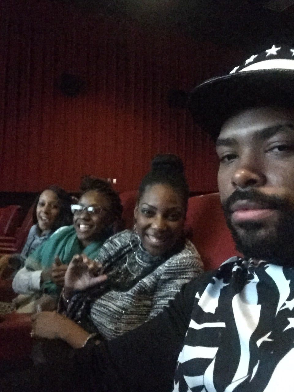 I forgot what movie we went to see but it was fun hanging with my peoples.