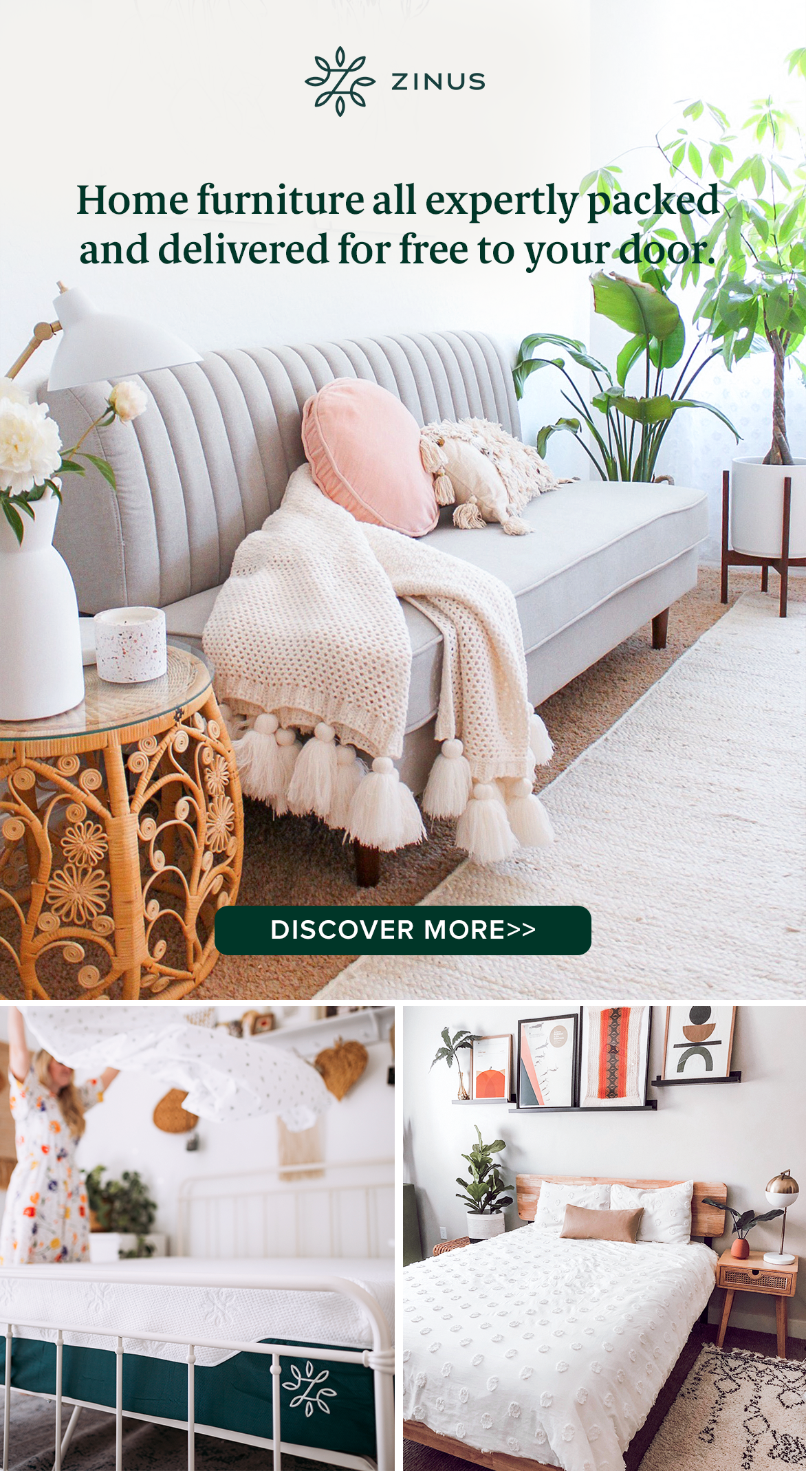 Fill Your Home With Style Amp Comfort Zinus Will Give You