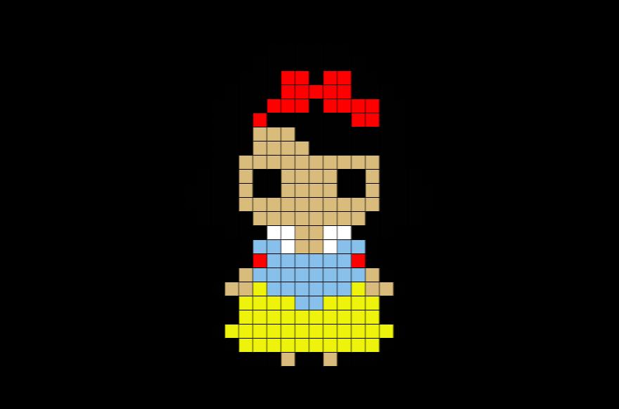 Stitch Disney Pixel Art Perler Beads Pixel Art Pixel