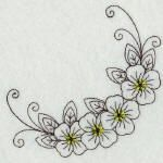 OPW MALL'S PREMIUM EMBROIDERY CLUB - January 2010 - Redwork Specialty Pack