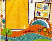 Backyard Adventure - 12x12 Premade Scrapbook Page