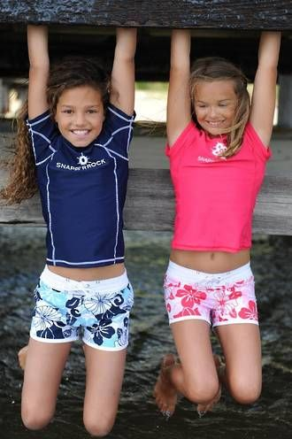 433ea32bde345 for spain: GIRLS SHORT BOARD SHORTS & surf shirts! | Swim suits ...