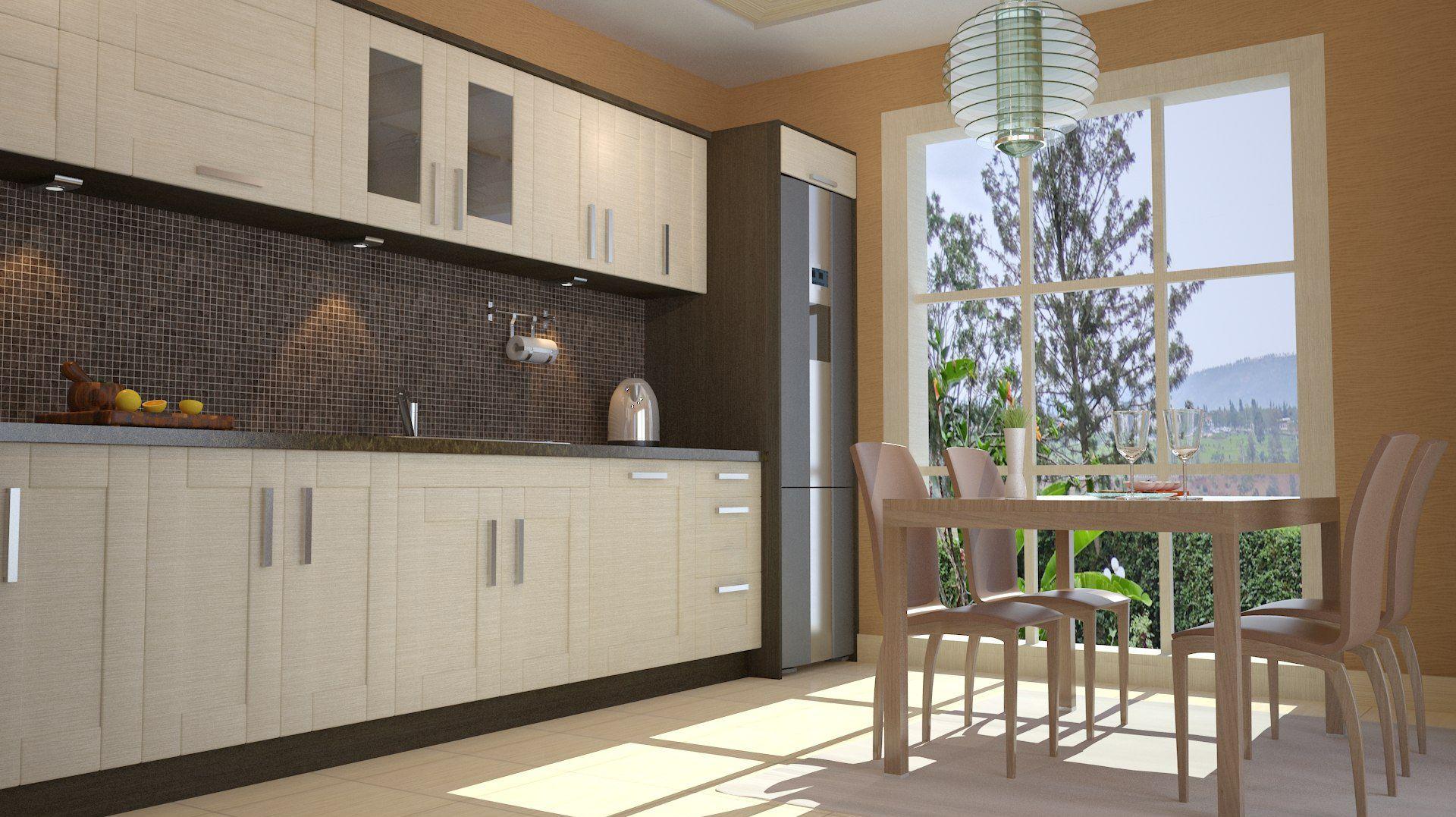 3d mutfak tasarımı - rüzgar tasarım sweet home 3d kitchen design