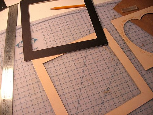 How To Make Your Own Photo Mats The Shabby Creek Cottage Frame Matting Diy Matting Pictures Diy Picture Frames