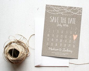 Wedding Save The Dates | Etsy HK | I do...part deux | Pinterest ...