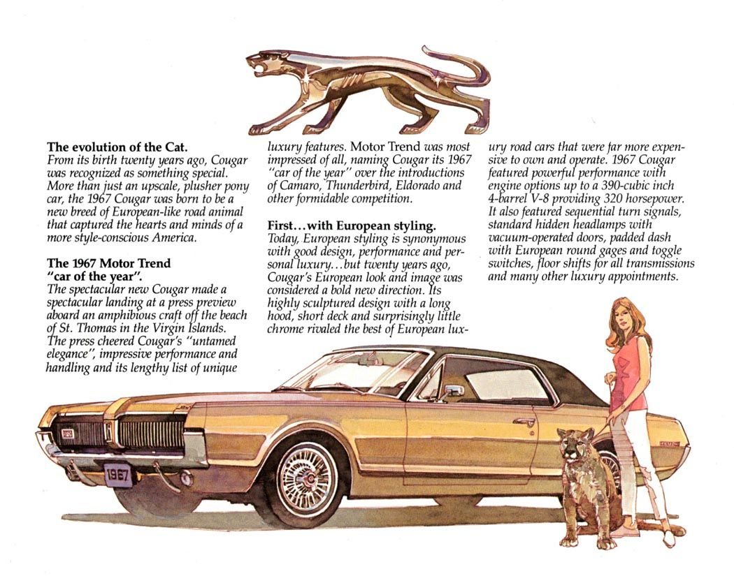 Mercury cougar ad 1967 60s pinterest explore family cars ford lincoln mercury and more publicscrutiny Image collections