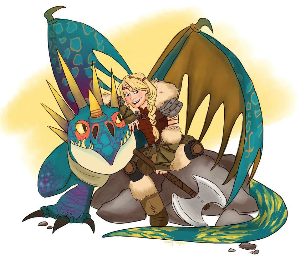 stormfly how to train your dragon
