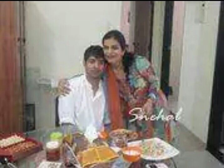 Barun with his sister Richa